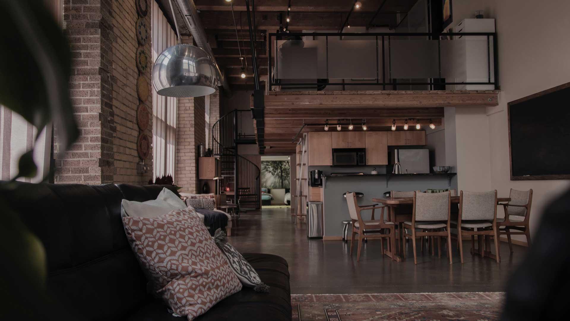 spazio abitativo loft