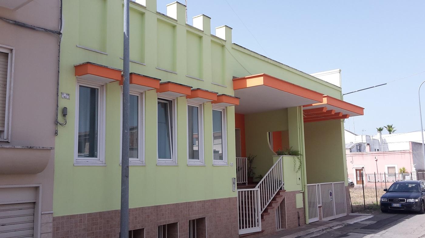 Casa indipendente di 4 vani + tripli acc.