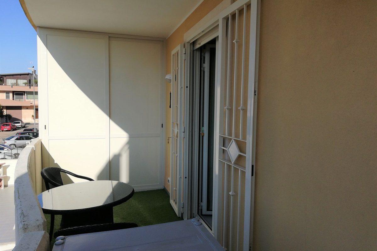 Appartamento al 1° piano di 4 vani + doppi acc.