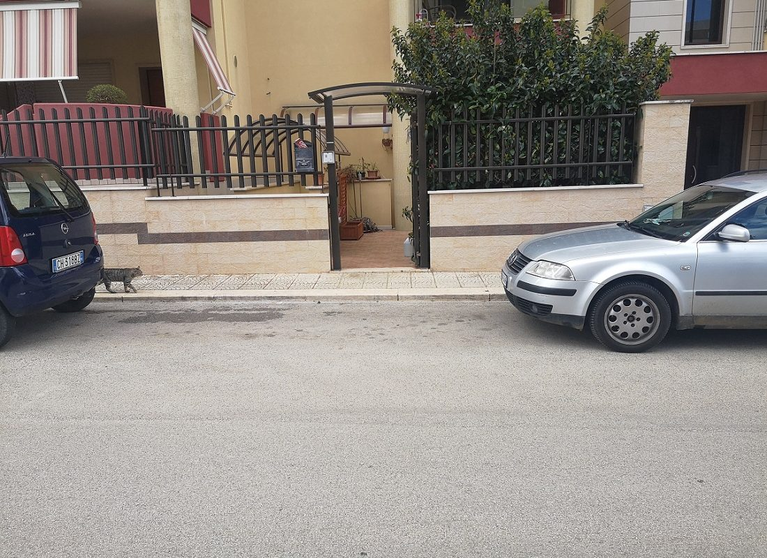 Appartamento a piano rialzato con ingresso indipendente