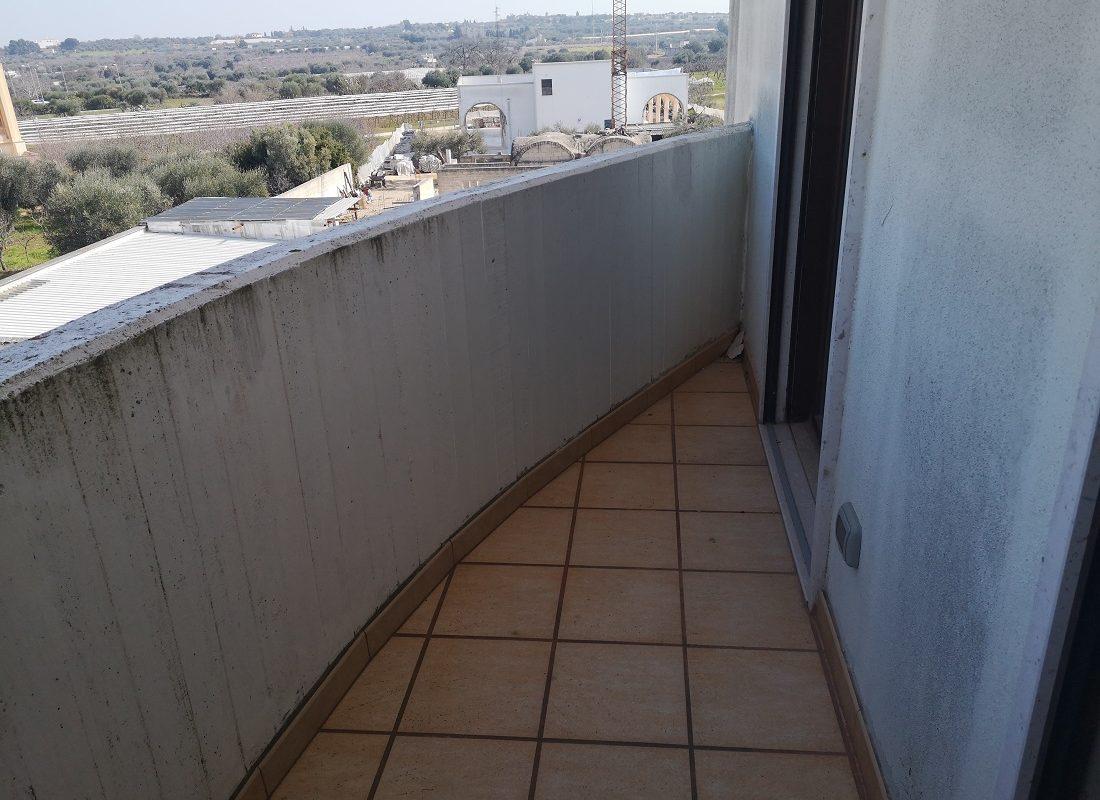 Appartamento al 3° piano di 4 vani + doppi acc.